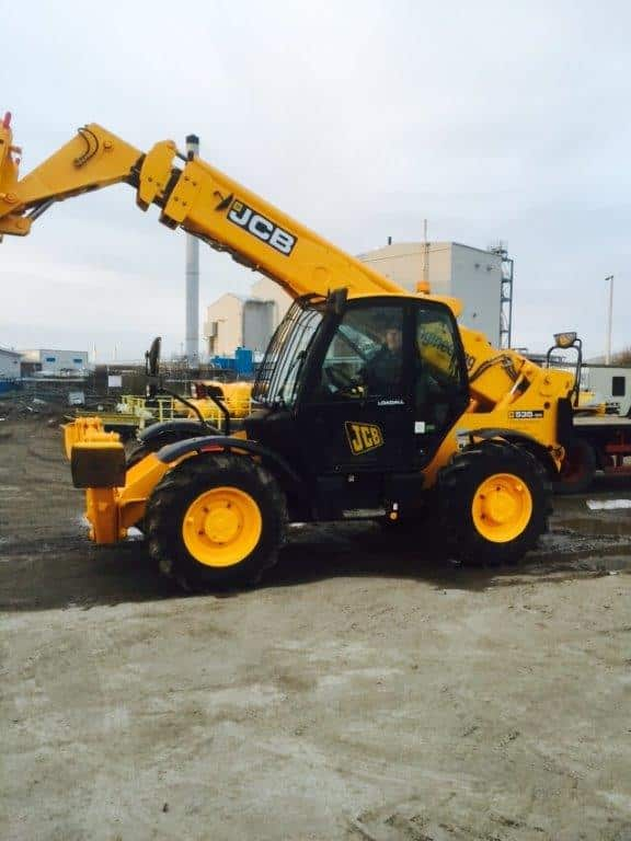 JCB Telehandler - AE Engineering Fylde