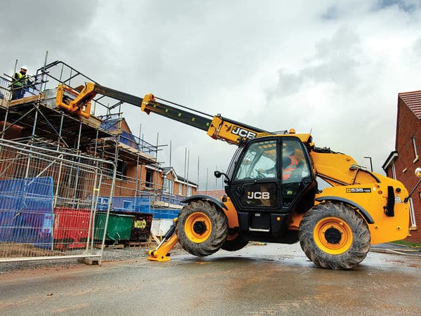 JCB Loadalls for Hire with AE Engineering