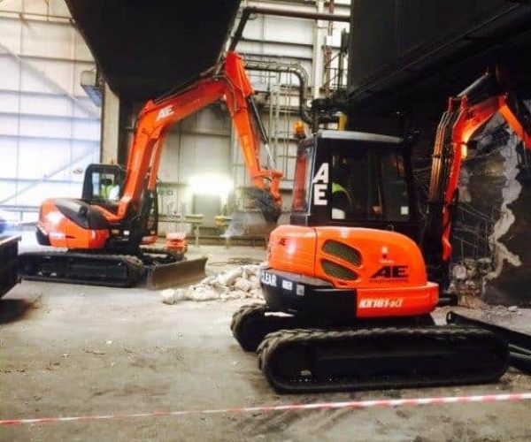 Excavator & Mini Digger Hire