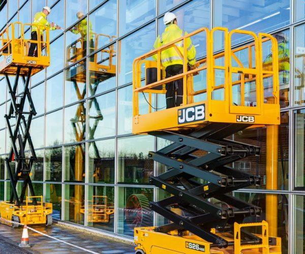 Scissor Lift & Access Hire. JCB Scissor Lifts