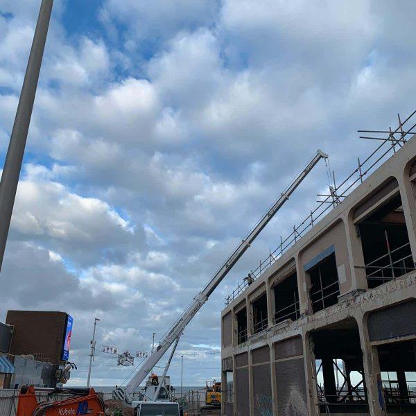 Crane hire in Blackpool, Preston & Fylde - AE Engineering
