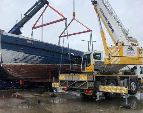 Boat Removal & Transport